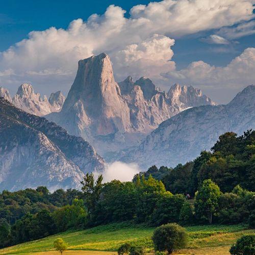 Naranjo de Bulnes (known as Picu Urriellu) in Asturias, Spain.
