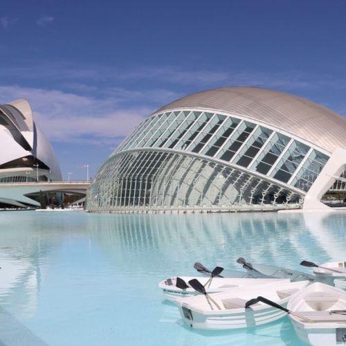 Ciudad de las Artes y las Ciencias en la Comunidad Valenciana