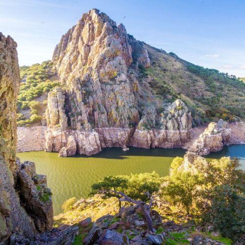 Parque Nacional de Montfragüe en Extremadura