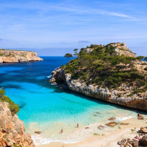 Playa en las Islas Baleares