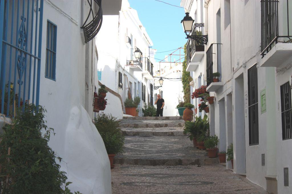 Calle Alta De Frigiliana