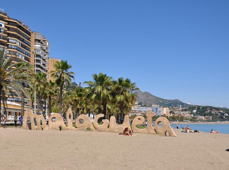 Playas De Malaga Malagueta