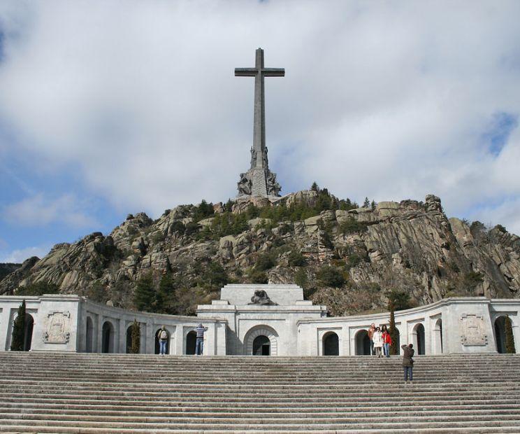 Valle de los Caidos en El Escorial