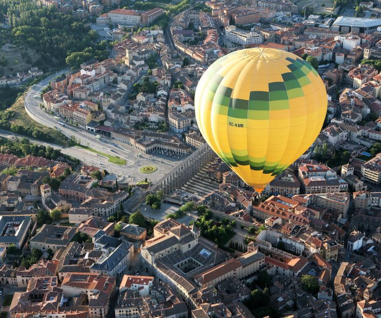 vuelo en globo por segovia