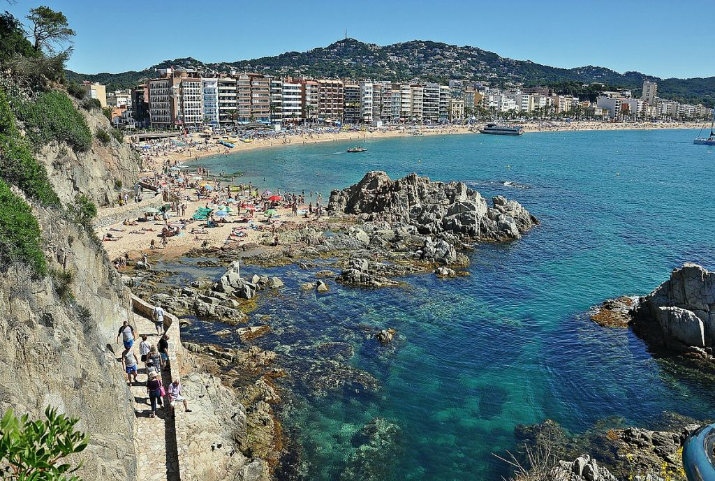 Playa Lloret De Mar