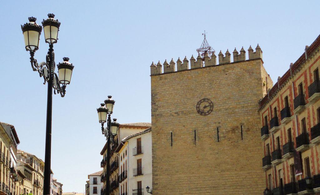 Torre De Los Aliatares En Baeza